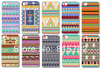 10pcs/lot New Aztec Tribal Tribe Pattern Retro Vintage Hard Case Cover for iPhone 5 5S 5G free shipping