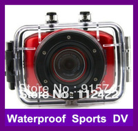 2013 New HD 720P Waterproof Sport DVR Camera with 20 meter Water Resistant Case Portable Video recorder Free Shipping In Stock