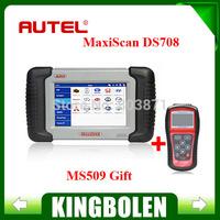 2014 100% Original Autel MaxiDAS DS708 Professional Car Code Scanner Autel DS 708 With Best Price High Quality