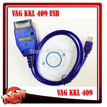 VAG 409 USB COM for vag 409.1 usb interface for VW AUD for vag409 vag kkl 409 vw 409 Free shipping