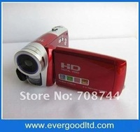 Free shipping!Professinal digital video camera with16x digital zoom and support to 32GB sd card(HD-C5)