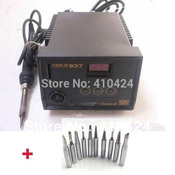220V HAKKO 937  Desoldering Solder Station Electric Soldering Irons + 10 free solder tips