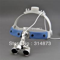 Free Shipping 3.5X Headband Binocular  Dental Surgical Loupes with 1W SZ-1 High brightness  Dental Medical Surgical Headlight