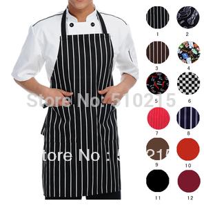 Chefs Catering Bar Plain Apron Waiter Waitress Butcher Bib Kitchen Cooking Craft(China (Mainland))