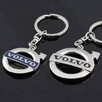 Three dimensional Volvo vehicle-logo keychain novelty items fashion jewelry gadget trinket promotional keychain christmas gift