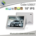 Brand New Original 10&quot; Cube U30GT RK3066 Dual Core tablet PC IPS Screen 1.6Ghz 16G/32G Bluetooth Android4.0.4 1280*800 2 Cameras