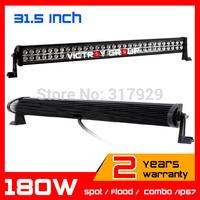32inch 180W  LED Work Light Bar for Boat SUV Tractor ATV 12v 24v Offroad Fog Light WorkLight Extermal Light Save on 240w 300w