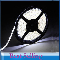 RGB DC 12V 5M led strip 3528 Waterproof White 3528 smd 60 led/m rgb strip light cool white smd 3528 300leds Fexlible light strip