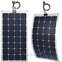 2014 Best 100W 12V Flexible Solar Panel, SunPower Back Contact Cell, Fast ship,NO custom tax.WHOLESALE, UK STOCK!