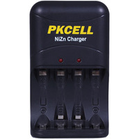 Free Shipping PKCELL  Ni-Zn  Fast   Battery  Charger 8186 Charge In AA/AA  Ni-Zn Battery  LED Idicator  EU/US  Plug