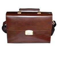 Men's Fashion Fingerprint  Briefcase, Genuine Leather handle Bags for Men HF-FC01 with fingerprint identification! !!