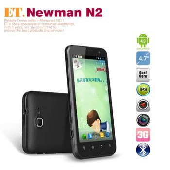 "4.7"" Newman N2 Quad core Exynos4412  IPS HD720P wcdma phone 1GB RAM 8GB ROM 1.4ghz Dual Camera GPS Android 4.0"