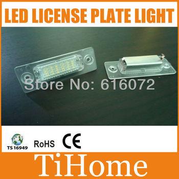 Free Shipping VW Caddy/ Golf Plus/Jetta/Passat 5D/Touran/Transporter/Skoda Superb LED LICENSE PLATE LAMP/LIGHT,LED CAR LIGHT