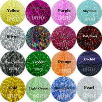 16 Colors, 16 Packs Crystal Flash, Krystal Flash, Fly Tying Material, Jig,  Lure Making Material, Fishing