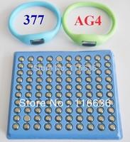 100x AG4 LR66 SR66 377 LR626 SR626 626 377A 3778 Watch Cell Button Batteries Alkaline men women kids watches wholesale LOT