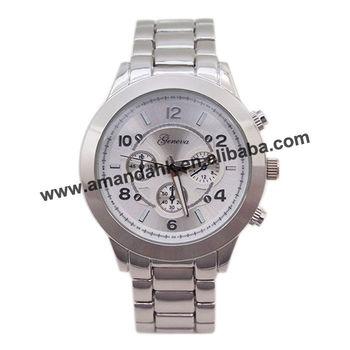 HOT SALE MAN Metal watch chrono steel watch ,50pcs/lot fashion quartz man watch.2013 top brand man stainless steel watch.