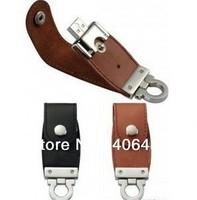 free shipping 10pcs/lot  NEW pu leather 2GB 4GB 8GB 16GB 32GB USB 2.0 Memory flash disk Flash Drive drop shipping