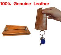 Designer leather key wallet 2014, fashion key holder, slim key wallet