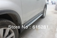 Side step bar running board for Kia Sorento, Aluminium alloy+ABS, Automobile Accessories Decoration, Wholesale price