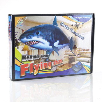 Remote control RC air flying FISH  Fisch shark inflatable toy funny R/C pescado swimming In the air poisson isda ikan fisk peixe