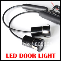 5th Generation!  7W LED Car Door Welcome Light Laser light of car door light High power