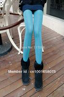 Free Shipping ML7579 Deep Green  Women Warm Pants Winter unique leggings