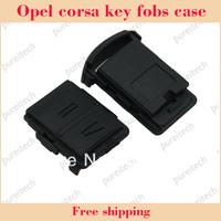 opel Vauxhall Corsa Agila Meriva Combo 2 button remote Key Fob shell no logo