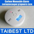 Home Security Safety CO Gas Carbon Monoxide Alarm Detector CE/Rohs/EN50291 Approved(China (Mainland))