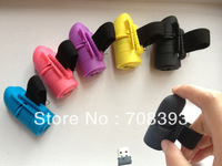 FREE SHIPPING /  2.4G finger wireless mouse / RING mouse/optical mouse cool gift  1pc AAA battery