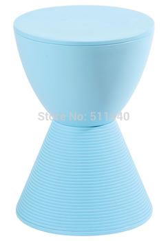 EMS shipping, 1 piece plastic Philippe Starck design  prince Aha hourglass stool