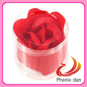 Free Shipping  2013 Hot-selling Valentine/Birthday/festival/promotion gift washing 3 layers rose soap Flower for Shower favors
