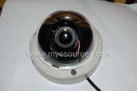 "free shipping 700TVL 1/3"" Sony CCD Effio-e chips surveillance Dome camera Auto Iris 2.8-12mm 2MP HD lens Security CCTV Cameras"