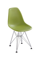 EMS shipping, 1 piece plastic seat steel leg  kids dining chair study chair DSR Eames chair