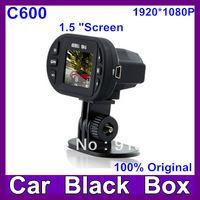 2013 Newest Full HD 1920*1080P IR LEDX12 Car Vehicle CAM Video  Camera  C600 Recorder Camcorder DVR