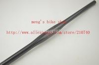 MTB handlebar carbon fibre riser flat handlebars 31.8*600/620/640/660/680/700mm