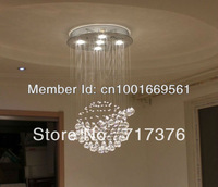 Free shipping+ Fashion crystal lamp bedroom lamp Restaurant lights Ceiling chandelier