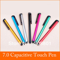 100pcs/lot 7.0 Style Touch Pen for iPhone4 4s 5G for iPad 2 3 ipad mini  for iTouch for Samsung Galaxy tablet  free shipping CN