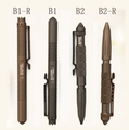 W/BOX LAIX B1 B2 Tactical Defense Survival Portable Survival Pen 4 design Camping Tool 6061-T6 Aviation Aluminum Freeshipping(China (Mainland))