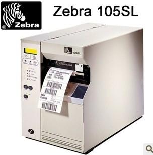 High Performance! Zebra 105SL industrial barcode label printer