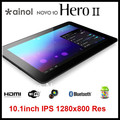 wholesale Ainol Novo10 Hero 2 Quadcore Tablet PC Android 4.1 Jelly Bean 10inch IPS Screen 1280x800 16GB