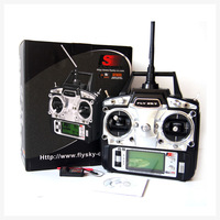 Freeshipping Mode 1 FS FlySky FS-T6/FS T6 2.4G Digital Proportional 6 Channels Transmitter & Receiver w/ LED Screen