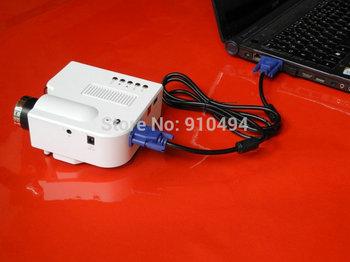 amazing 48 lumens 320X 240 pixels mini led projector HDMI AV USB SD card  VGA remote control multimedia portable video projector