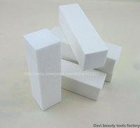 nail buffer 20PCS/LOT white sanding block emery board for nail salon & Nail Art Free shipping #BK0361-01