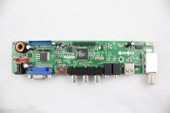 VGA+HDMI+AV+Audio+USB+TV of LCD TV controller board