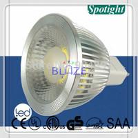 50pcs Hot 5W 6W COB LED Spotlight Bulbs MR16 GU5.3 Ampoules led Lamp 38 degree