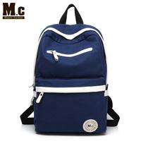 Moore Carden men's canvas backpack bag men casual school backpack travel bag