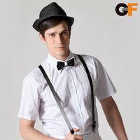 Freeshipping spring summer autumn blue white striped man gentleman men's short sleeve slim fit cotton shirt top shirts FZ-MDX603