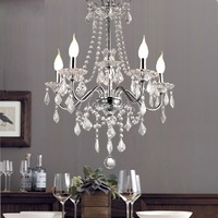 Free Shipping Moddern Crystal Chandelier with 5 Lights (220v-240v 54cm)10007