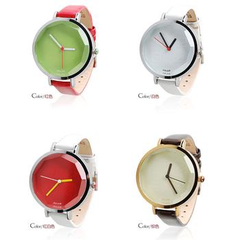 New 2014 famous korea brand fashion colorful jelly women dress electronic Watch Leather strap Quartz bracelet outdoor hour