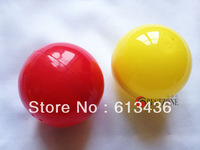 plastic ball decoration  , plastic capsule gift for candy ,toys, size 65mm diameter plastic capsules for  lottery drum
